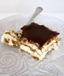 chocolate therapy chocolate eclair cake