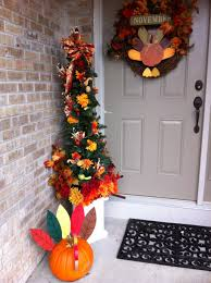 wondrous thanksgiving porch decor presents stunning hanging wreath
