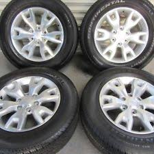 ford ranger tyre size wheels with tyres for ford ranger ebay