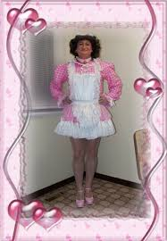 sissy pubic hair style posing in my annikka gingham sissy maid uniform sissy pretty s