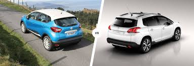 renault one renault captur vs peugeot 2008 comparison carwow