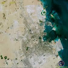 Doha Qatar Map Spot 6 Satellite Image Of Doha Qatar Satellite Imaging Corp
