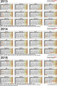 three year calendars for 2013 2014 u0026 2015 uk for pdf