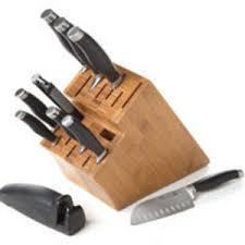 kitchen knives block set pered chef knife set reviews viewpoints