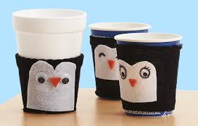 penguin cup cozy craft highlights for children