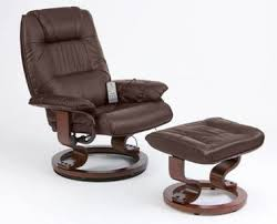 homcom pvc leather recliner and ottoman set cream top 10 massage recliner chairs for sale office or home use