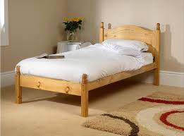 Wood Frame Bed 3ft Single Wooden Bed Frame Intended For Attractive Home Ideas