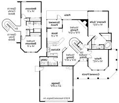 spanish home floor plan home plan