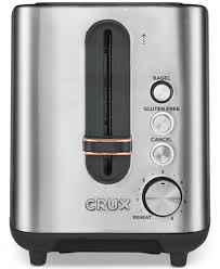 2 Slice White Toaster Crux Crx14544 2 Slice Toaster Created For Macy U0027s Electrics