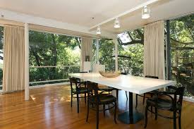 dining room track lighting photo 5 of 21 in an amazing tree covered glass house for sale in
