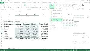 tutorial pivot table excel 2013 pivot table excel 2013 carsaefc club