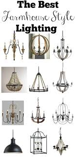 Farmhouse Ceiling Light Fixtures The Best Farmhouse Style Lighting Vintage Nest