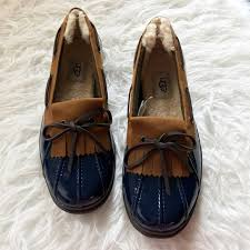 ugg haylie sale 60 ugg shoes nib ugg australia haylie lined boat shoe