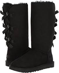ugg bailey bow black sale ugg mini bailey bow black shoes black shipped free at zappos
