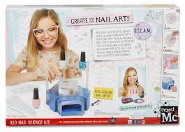 amazon com project mc2 h2o nail science kit toys u0026 games