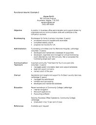 Sample Combination Resume Example by Functional Resume Examples Functional Resume Example Resume