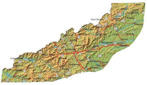 western carolina cities and towns