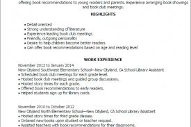 Librarian Resume Example by Library Assistant Cover Letter
