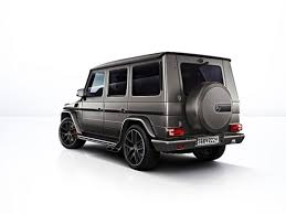 mercedes amg g 63 and g 65 exclusive editions debut with