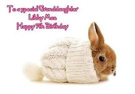 rabbit birthday personalised a5 rabbit birthday card any age relation