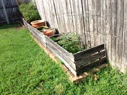 pots pans u0026 paintbrushes reclaimed wood planter box fences part 1