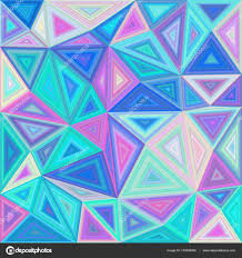 colorful triangle tile mosaic background u2014 stock vector