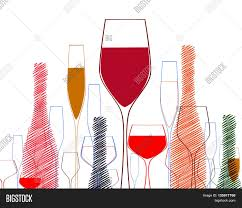 cocktail party invitation cocktail party vector wine bottle vector u0026 photo bigstock
