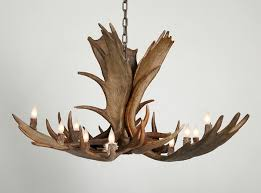 How To Make Deer Antler Chandelier Moose Antler Chandelier Moose Antler Chandeliers Free Shipping