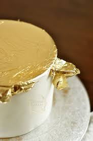 where to buy edible gold leaf how to apply edible gold leaf to cakes on craftsy cake cake