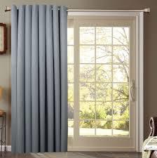 modern decoration sliding glass door curtain rod classy design