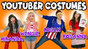 diy youtuber costumes for halloween jojo siwa wengie logan paul