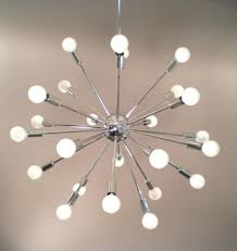 Atomic Chandelier Modern Hq Your Modern Headquarters 24 Arm Atomic Burst Sputnik