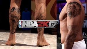 full body tattoo nba 2k16 nba 2k17 how to equip accessories and tattoos
