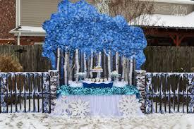 winter garden birthday party ideas shindigz