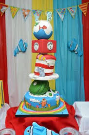 dr seuss birthday party supplies dr seuss birthday four tier topsy turvy dr seuss themed cake