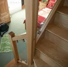 Glass Staircase Banister S Vision Glass Balustrade System Oak Handrails Stair Banister