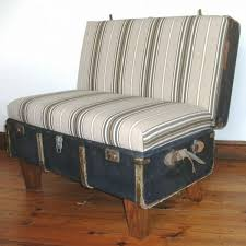 ottoman that turns into a chair 40 creative ways of re using old suitcases