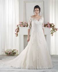 the best wedding dresses for fat arms sleeved wedding dresses