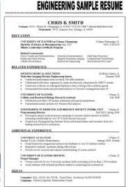 Resume Engineering Examples by Sample Cv Of Fresh Engineering Graduate