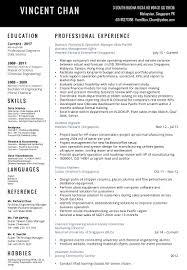 Resume Master Of Science Resume 2016 Disney