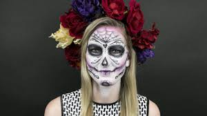 how to get a day of the dead u2013inspired sugar skull makeup look