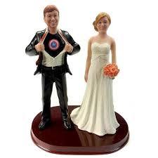 captain america cake topper custome captain america wedding cake toppers