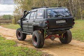 baja jeep cherokee тюнинг jeep grand cherokee zj по законам baja 1000