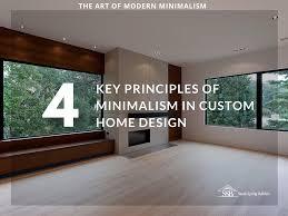 the art of modern minimalism in custom home design sandy spring