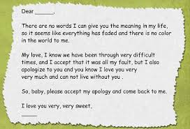 apology love letter example example of effective sorry letter to