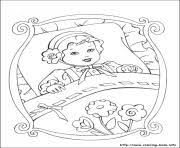 barbie thumbelina 10 coloring pages printable