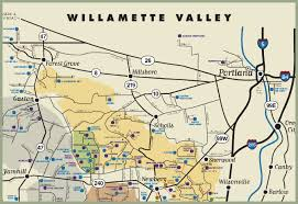 map of oregon wineries yamhill vineyards bed and breakfast yamhill oregon country