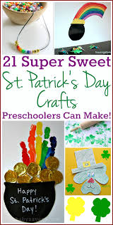 st patrick u0027s day crafts for preschoolers 21 great ideas