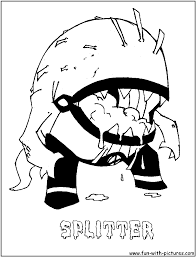 spitter ben 10 coloring pages sketch coloring page