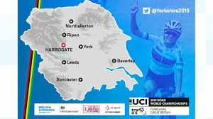 map uk harrogate harrogate to take centre stage during cycling s road world